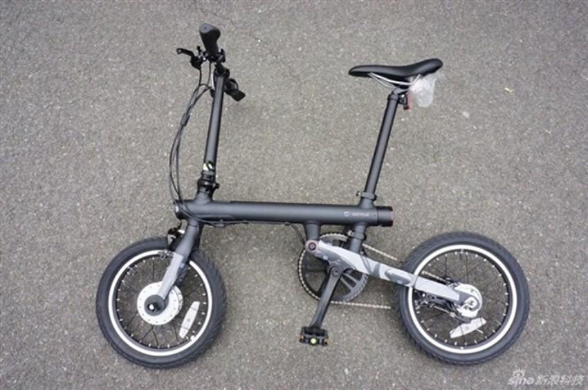 샤오미 접이식 전기 자전거 QiCycle