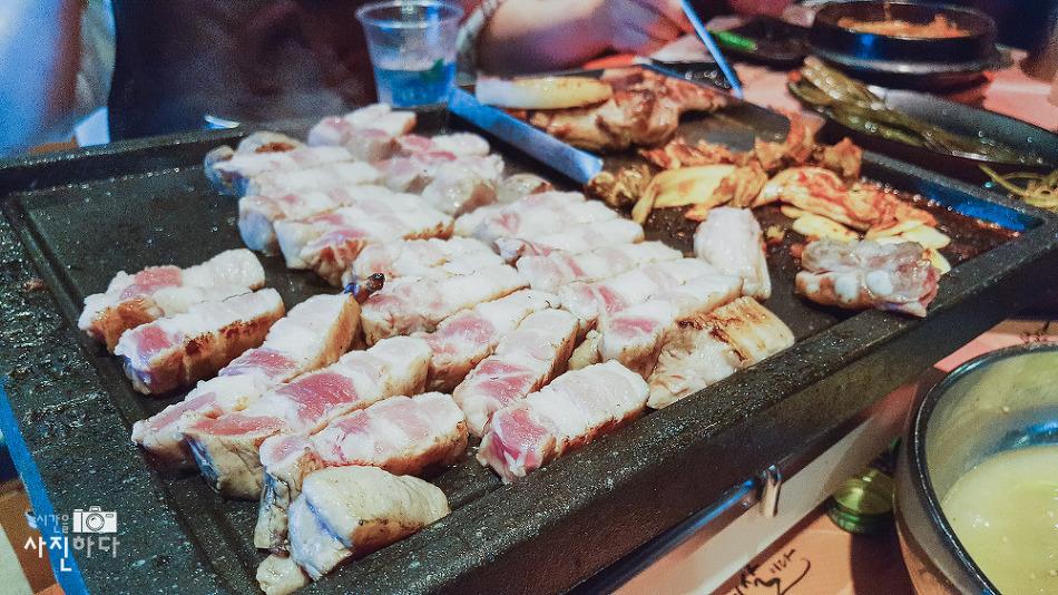 [내맘대로 맛집 - 대치동맛집] 삼겹살이 정말 맛났던 숯불 돼지구이 전문점, 하남돼지집