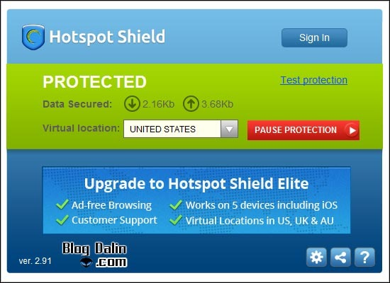 핫스팟 쉴드, hotspot shield vpn 설치과정_03