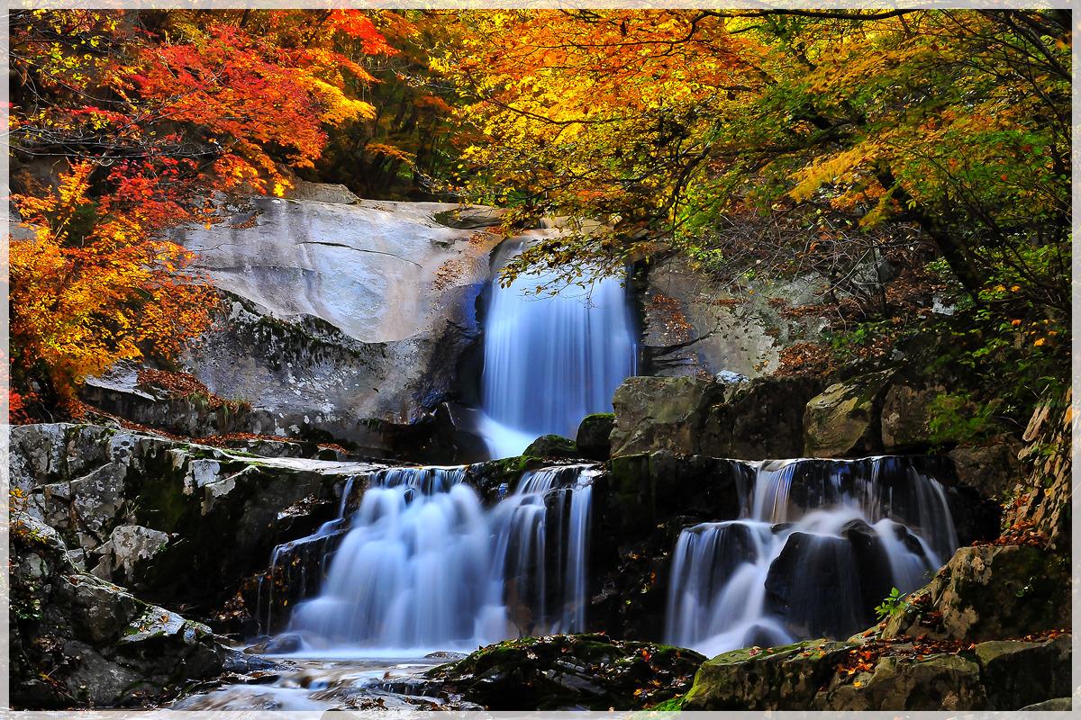 방태산 이단 폭포(2012.10.12)
