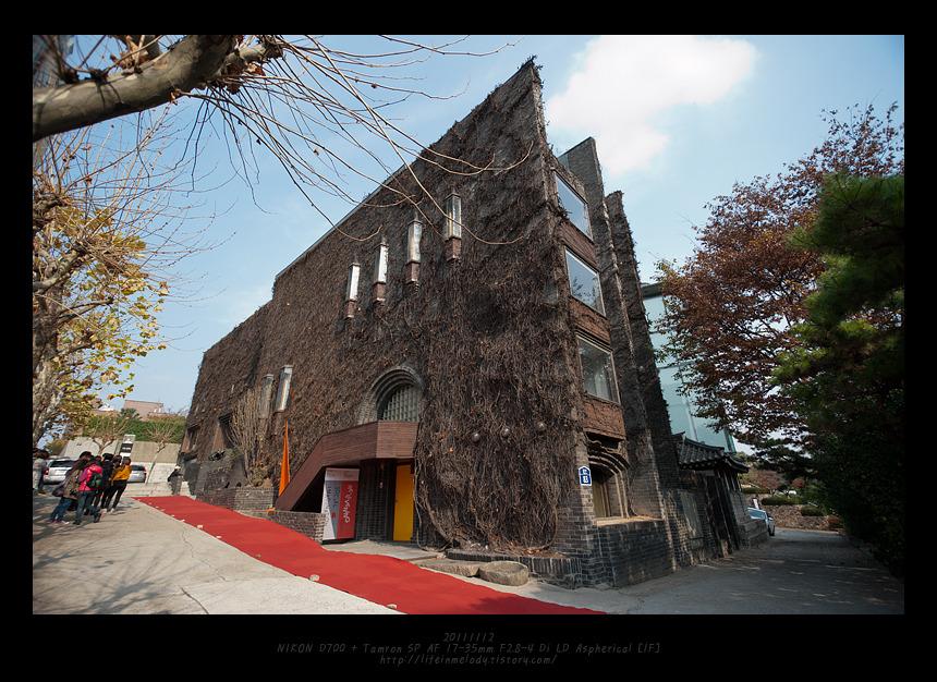 20111112 공간 사옥, 인사동