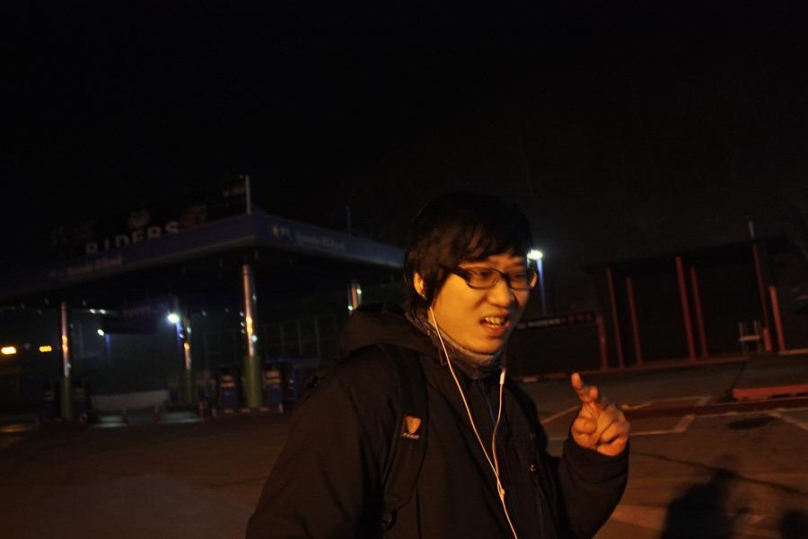 바이크로 달리자 - 야간 유명산 투어 : 110F6D3D4F669099241DDA