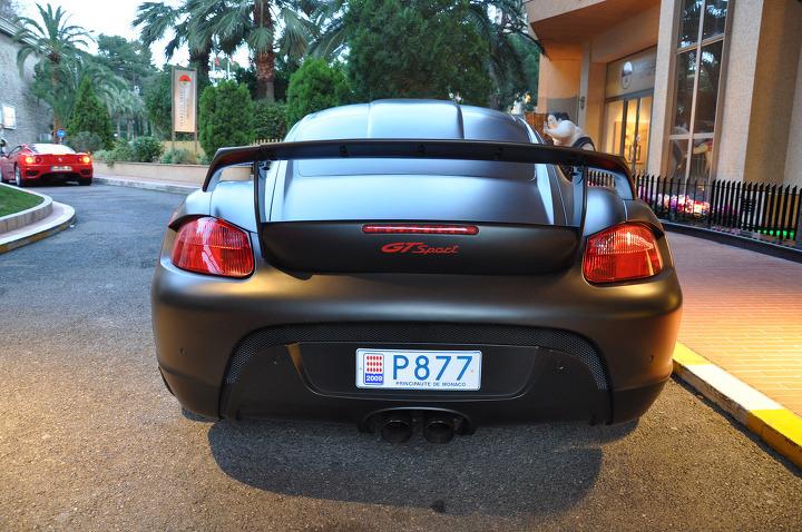 포르쉐 카이만 GT sport 무광블랙