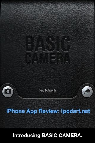 아이폰 베이직카메라 BasicCamera