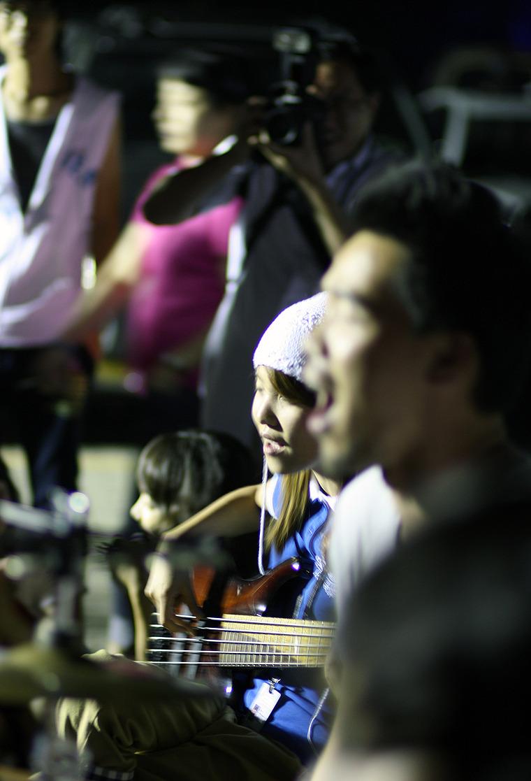 인디밴드의 길거리 공연