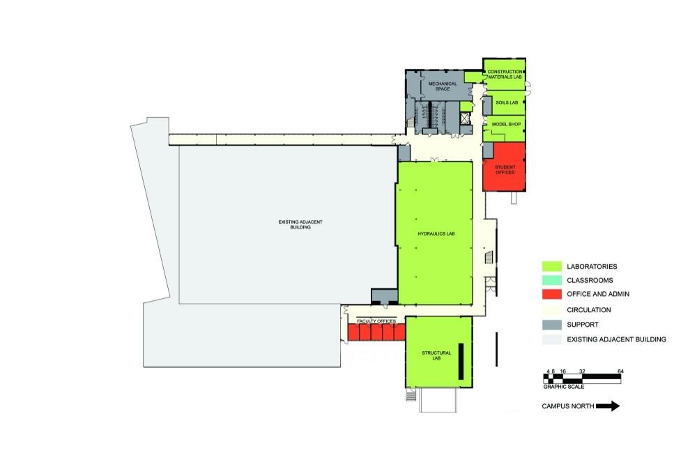 [转载]明尼苏达州德卢斯大学土木工程系建筑景观规划