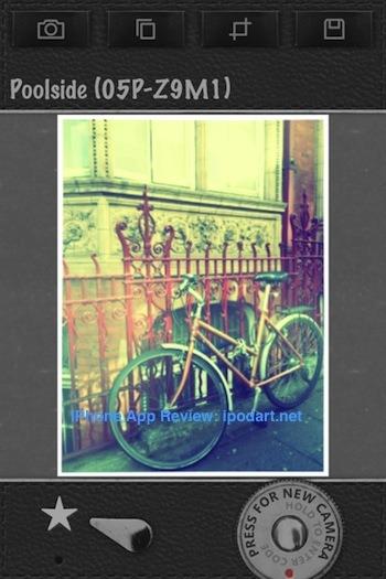 Infinicam 아이폰 필터 효과 사진