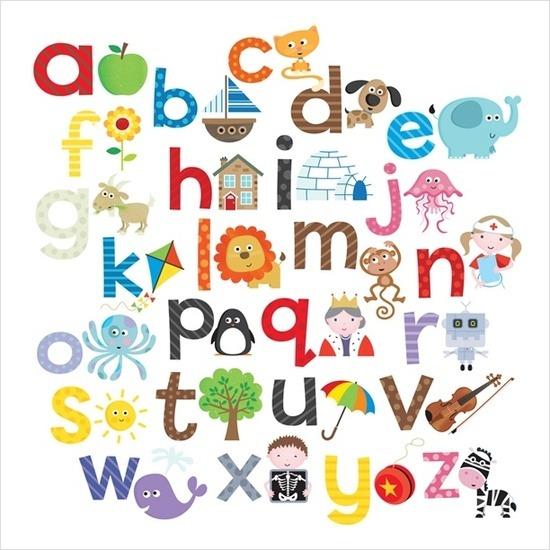 - Letras decorativas para habitaciones infantiles ...