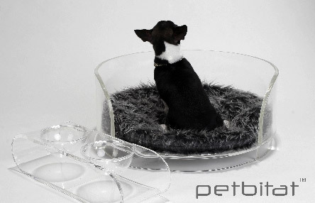 Designer pet beds by Petbitat