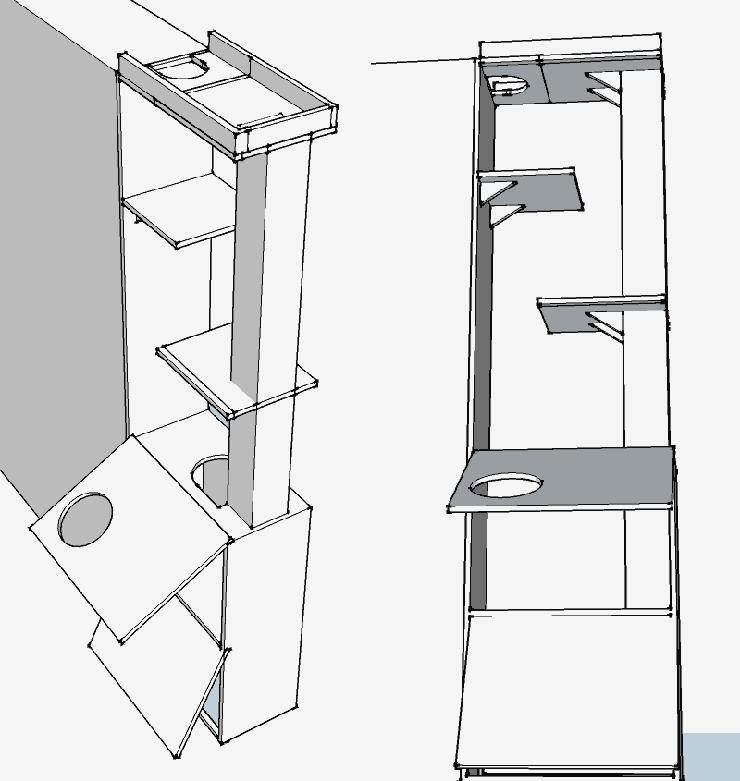 캣타워 디자인 1