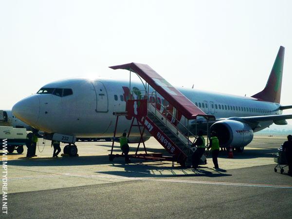 티웨이항공 B737-800 항공기