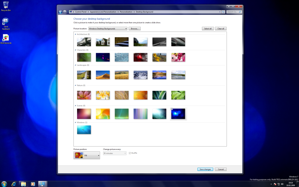 12 Windows 7 Build 7032 Screenshots