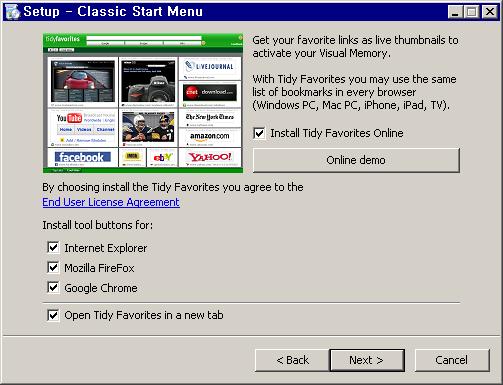 체크 표시를 한 웹브라우저를 종료해야 툴바를 정상적으로 설치할 수 있습니다.