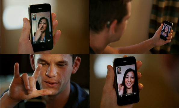 ASL Users using FaceTime on iPhone 4