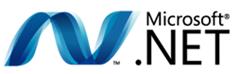 Microsoft .NET logo (c) Microsoft