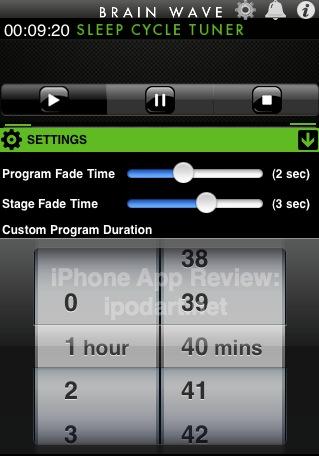 아이폰 아이팟터치 Sleep Cycle Tuner 2