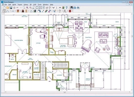 Draw your own house plans software