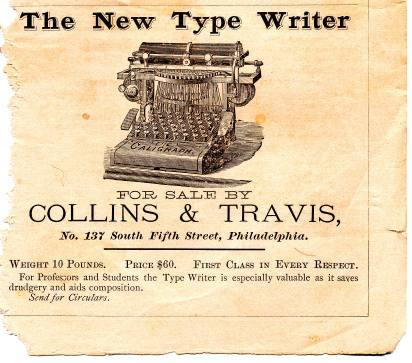 The Type Writer