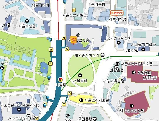 콩나물로 보는 서울시청
