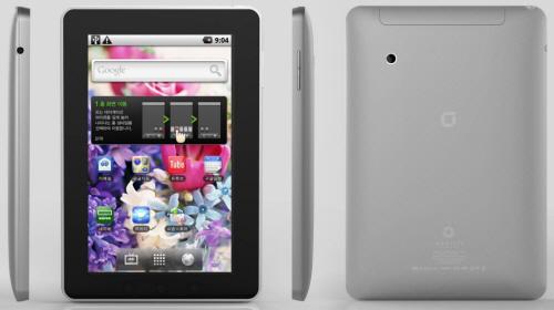 국내 최초 안드로이드 태블릿 PC, 아이덴티티 탭