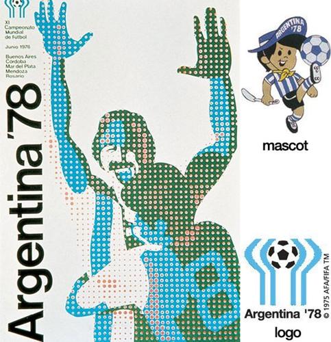 FIFA 월드컵 포스터, 로고, 마스코트 디자인 변천사