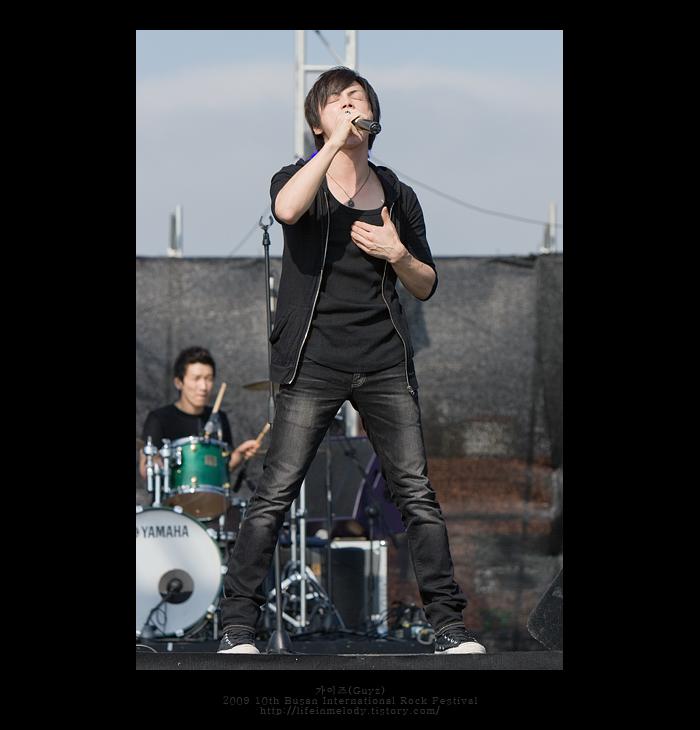 2009 10th 부산국제록페스티벌 - 가이즈(Guyz)