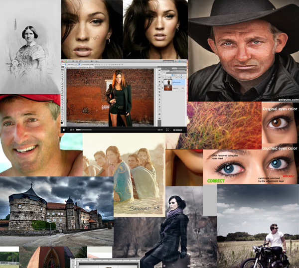 포토샵 전문가로 만들어 주는 33가지 사진 편집 예제