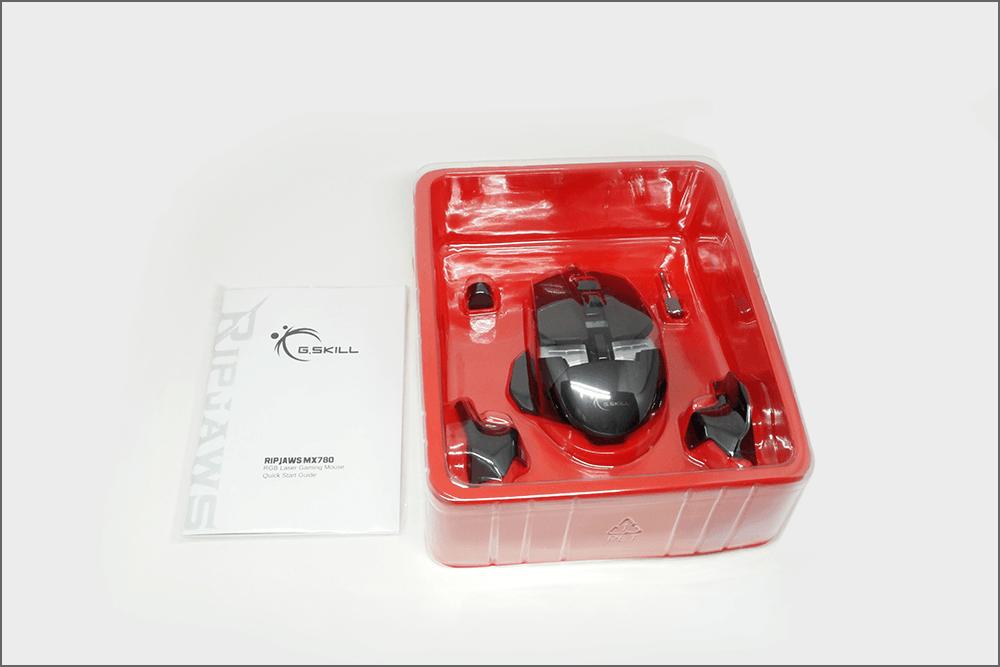 G.Skill MX780 RGB 게이밍 마우스 구성품 1