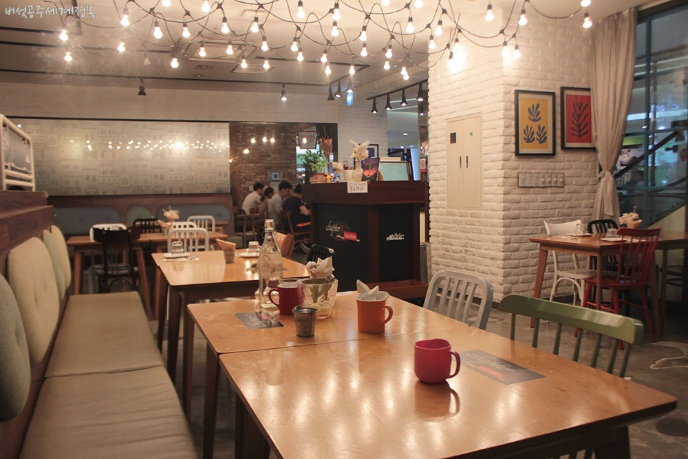 잠실 롯데백화점 맛집 <챕터원> 레스토랑, 르꼬르동블루 출신 쉐프 오픈키친의 깔끔한 맛집!