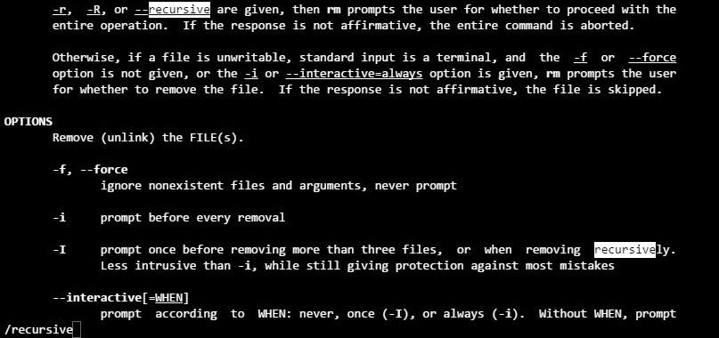 리눅스 man 매뉴얼 검색