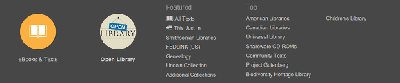 INTERNET ARCHIVE TEXTS
