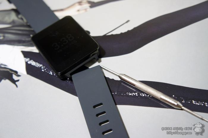 g watch, G워치, 시계줄, 분해, 교체