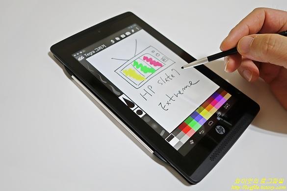 HP 슬레이트7 익스트림 스타일러스 펜 Tegra 그리기
