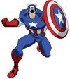 캡틴아메리카 색칠공부 색칠자료 이미지 모음