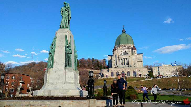 몬트리올 성 요셉 대성당입니다