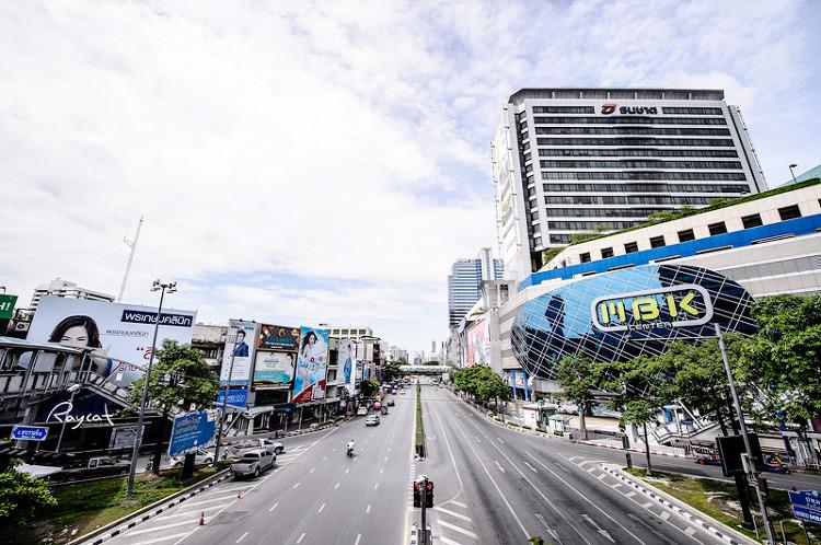 방콕 마분콩 센터앞