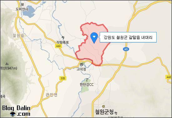 잘 알려지지 않은 계곡, 내대리 수영장 가는 길_01