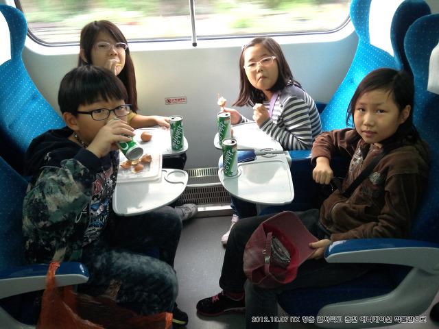 ITX 청춘열차, 2층 열차 타고 춘천 애니메이션 박물관에 가요~ ^^