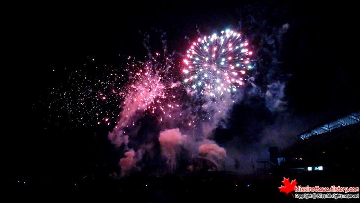 오타와 불꽃놀이