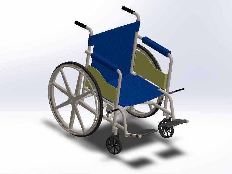솔리드웍스 | 휠체어