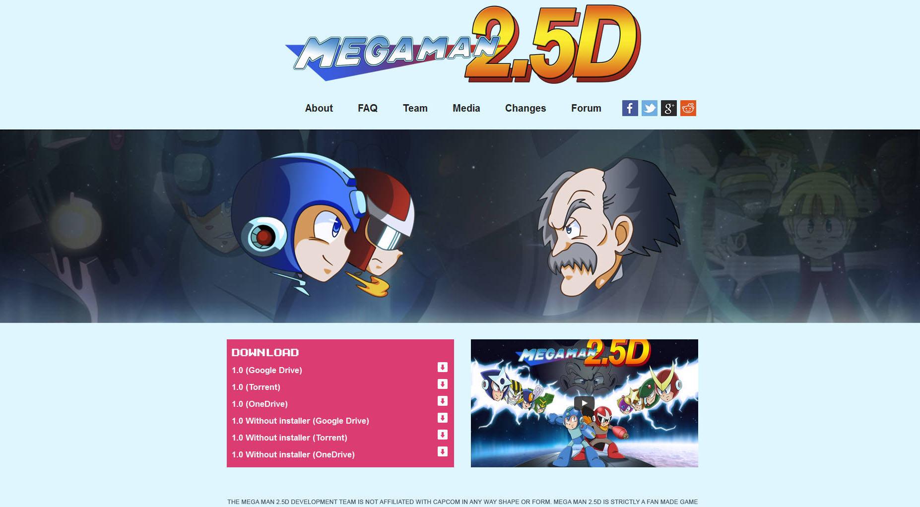 메가맨 2.5D(록맨 2.5D)