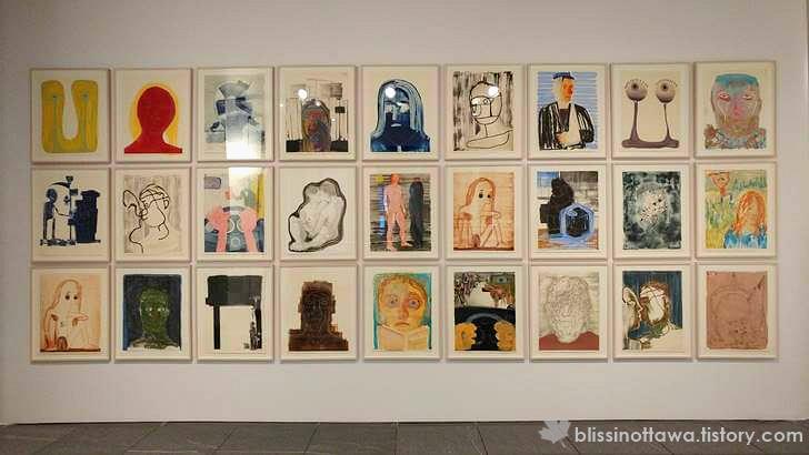 몬트리올 현대 미술관 비엔날레 전시 작품 입니다