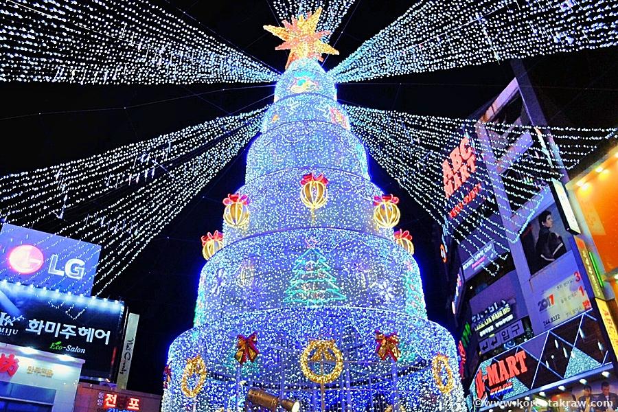 광복동크리스마스트리축제사진