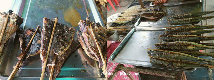 캄보디아 생선구이