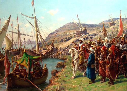 비잔틴제국 오스만 침공