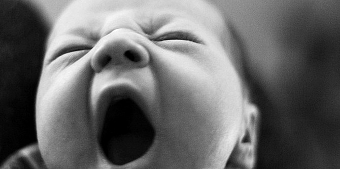 하품, 너무 졸릴때 깨는법