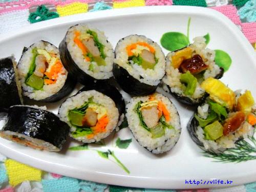 고급 김밥 만들기
