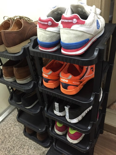 다이소추천꿀템 신발 보관 정리대 5단