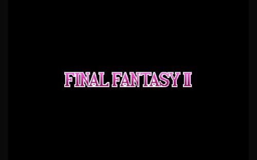 [게임] 파이널 판타지 2 (Final Fantasy 2) 안드로이드 버전에 대한 단상