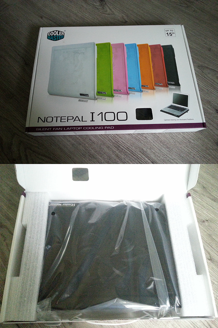 쿨러마스터 Notepal I100 포장